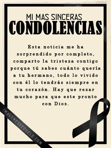 Tarjetas de condolencias para enviar por facebook