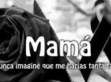 Mama me haces falta