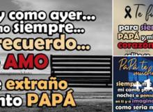 tarjetas de luto por un padre